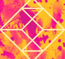 Geometry and Colors XXVII Sticker
