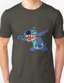 STITCH SAYING HELLO Unisex T-Shirt