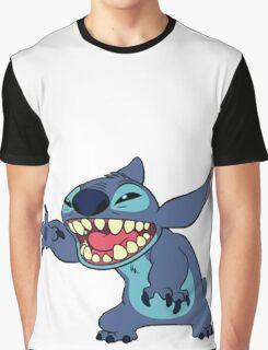 STITCH SAYING HELLO Graphic T-Shirt