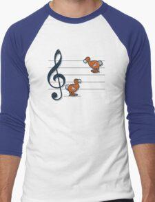 Octave dodos Men's Baseball ¾ T-Shirt