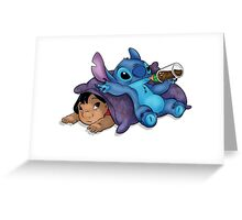 LILO AND STITCH 2 Greeting Card