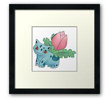 Ivysaur - pokemon challenge 002 Framed Print
