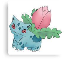 Ivysaur - pokemon challenge 002 Canvas Print