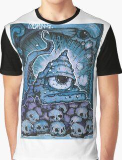 Cthonic Temple Smoke Graphic T-Shirt