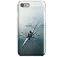 Powering Away iPhone Case/Skin