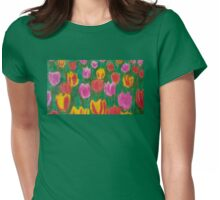 Tulips of Holland Womens Fitted T-Shirt