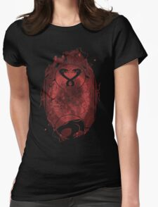 Evil Shrouds Us Womens Fitted T-Shirt