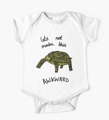 Awkward Tortoise One Piece - Short Sleeve