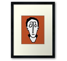 portrait 0147 Framed Print