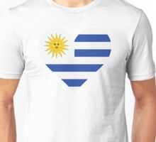 A heart for Uruguay Unisex T-Shirt