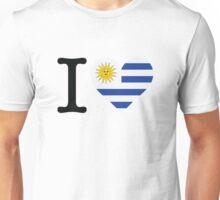 I Love Uruguay Unisex T-Shirt