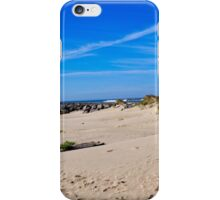 Newport Oregon - On A Clear Day At The Beach iPhone Case/Skin