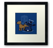 Doctor Wuff Framed Print