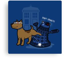Doctor Wuff Canvas Print