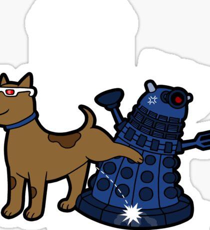 Doctor Wuff Sticker