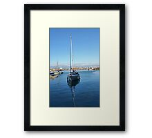 Brixham Harbour Framed Print