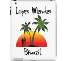 Lopes Mendes Brazil iPad Case/Skin