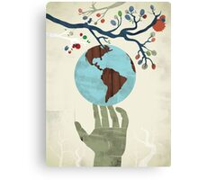 Global Issue 02 Canvas Print