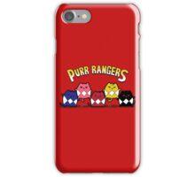 Purr Rangers iPhone Case/Skin