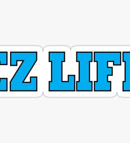 EZ LIFE (Blue) Sticker