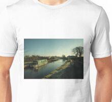 Winter at Swing Bridge  Unisex T-Shirt