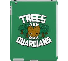 Trees are our guardians iPad Case/Skin