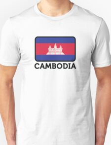 National flag of Cambodia Unisex T-Shirt