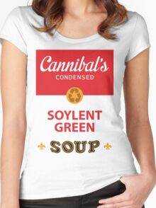 Cannibal's Soylent Green Soup Women's Fitted Scoop T-Shirt