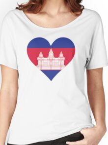A heart for Cambodia Women's Relaxed Fit T-Shirt