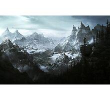 Skyrim Landscape Photographic Print