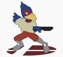 Falco - Super Smash Bros Melee by PrincessCatanna