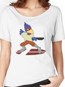 Falco - Super Smash Bros Melee Women's Relaxed Fit T-Shirt