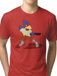 Falco - Super Smash Bros Melee Tri-blend T-Shirt