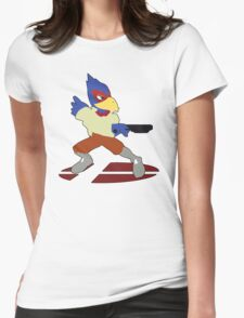 Falco - Super Smash Bros Melee Womens Fitted T-Shirt