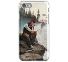 JOHAN TIRÉN,   (FAIRYTALE FROM THE NORTH OF SWEDEN). iPhone Case/Skin