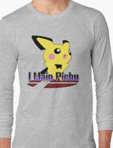 I Main Pichu - Super Smash Bros Melee Long Sleeve T-Shirt