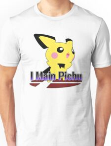 I Main Pichu - Super Smash Bros Melee Unisex T-Shirt