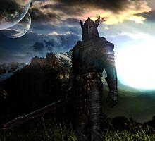 The elder scrolls Skyrim by SergioIkari
