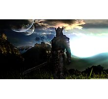 The elder scrolls Skyrim Photographic Print