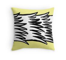 Monster Body - Spiny Edition Throw Pillow