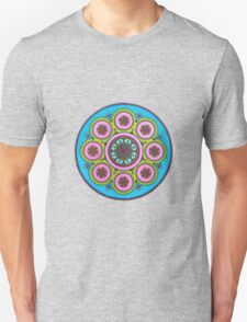 Flower Circle Mandala T-Shirt