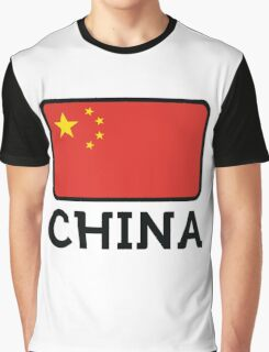 National Flag of China Graphic T-Shirt