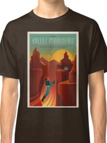 Vintage SpaceX Valles Marineris Mars Travel Classic T-Shirt