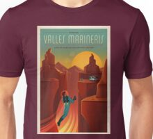 Vintage SpaceX Valles Marineris Mars Travel Unisex T-Shirt