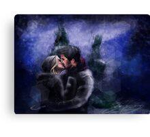 A Quiet, Snowy, Moment Canvas Print