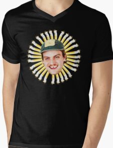 Mac Demarco Cigarette Butts Flower Mens V-Neck T-Shirt