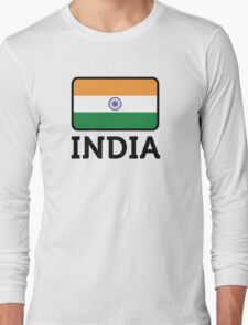 National Flag of India Long Sleeve T-Shirt