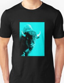Turquoise Bison Unisex T-Shirt