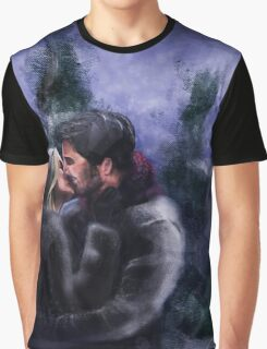 A Quiet, Snowy, Moment Graphic T-Shirt