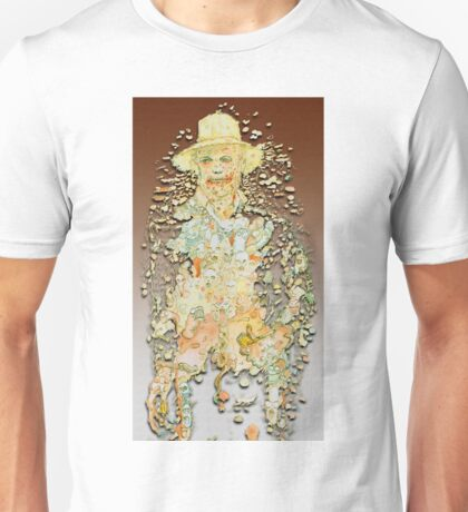 The Picture of Huckleberrian Gray Unisex T-Shirt